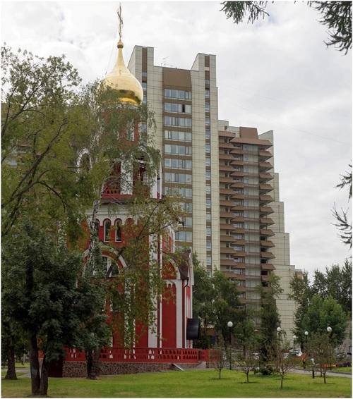 Храм на территории больницы - вера помогает